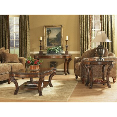 Brussels Rectangular Coffee Table Set