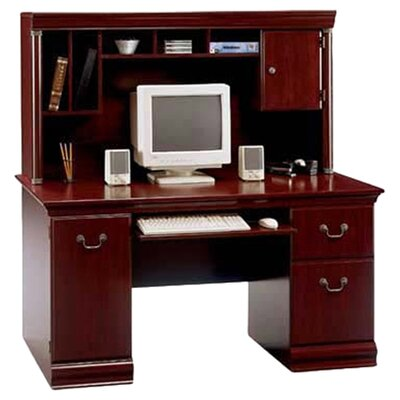 Vittoria Computer Desk with Hutch