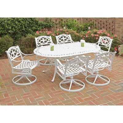 Van Glider 7 Piece Swivel Dining Set