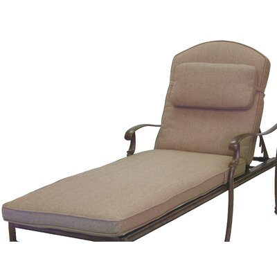 Dolby Chaise Lounge Seat and Back Cushion