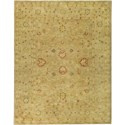 Bishop Brown/Beige Area Rug Rug Size: Rectangle 4 x 6