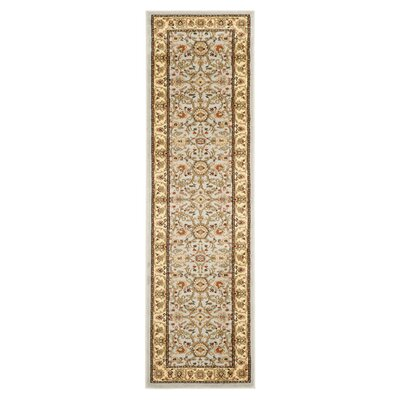 Ellesborough Grey / Beige Area Rug Rug Size: Runner 23 x 14