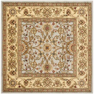 Ellesborough Gray/Beige Area Rug Rug Size: Square 5'3