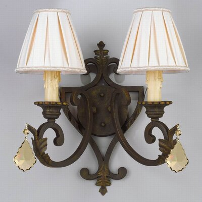 Mohegan 2-Light Wall Sconce