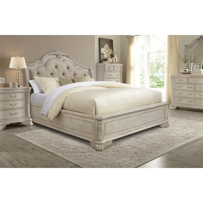 Gosson Upholstered Sleigh Bed Size: King