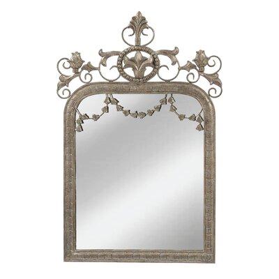 Aztec Silver Accent Mirror