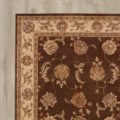 MontBlue Hand Woven Wool Tobacco Indoor Area Rug Rug Size: Rectangle 99 x 139