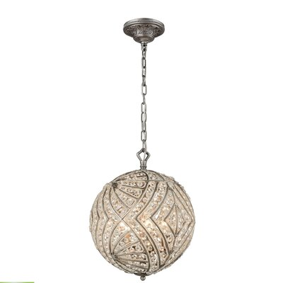 Jaidan 5-Light Globe Pendant Bulb Type: 4.8W LED