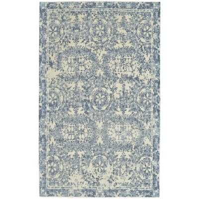 Navy Area Rug Rug Size: Rectangle 96 x 136