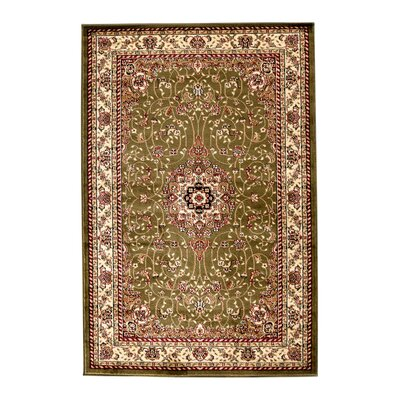 Richborough Sage/Ivory Area Rug Rug Size: Square 10