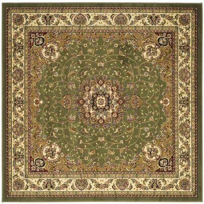 Richborough Sage/Ivory Area Rug Rug Size: Square 8