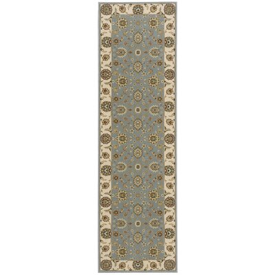 Bollitree Blue/Beige Area Rug Rug Size: Rectangle 93 x 129