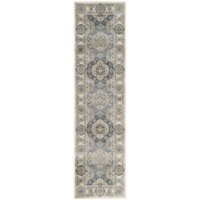 Baddesley Ivory/Ivory Area Rug Rug Size: Rectangle 67 x 92