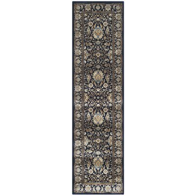 Otterburn Navy/Navy Area Rug Rug Size: Rectangle 8 x 11