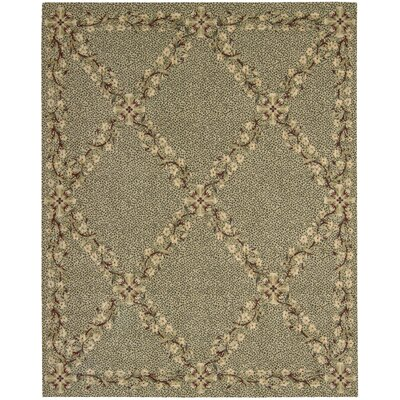 Forest River Sand Area Rug Rug Size: 53 x 83