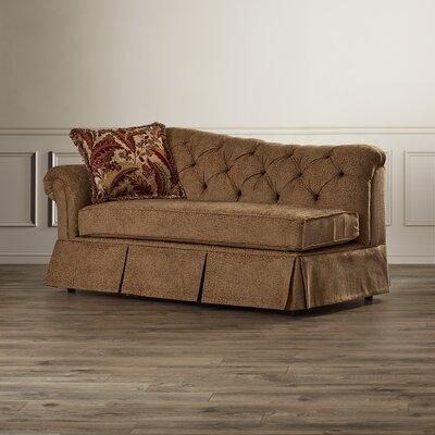 Serta Upholstery John Chaise Lounge Upholstery: Famu Copper