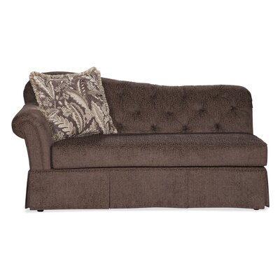 Serta Upholstery John Chaise Lounge Upholstery: Famu Driftwood