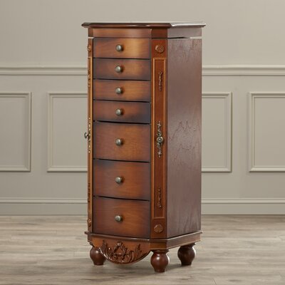 Wain Coolidge Jewelry Armoire with Mirror