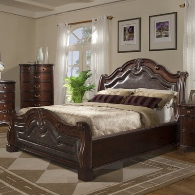 Alanya Upholstered Panel Bed Size: Queen
