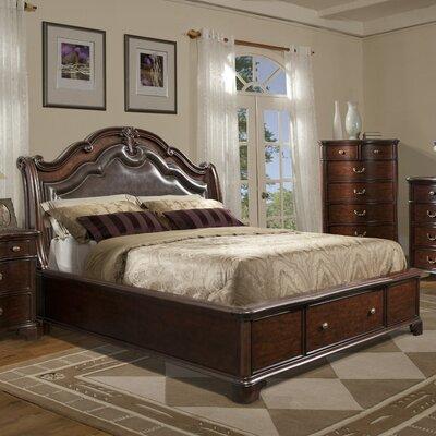 Alanya Upholstered Platform Bed Size: King