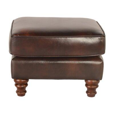 Tilsworth Leather Ottoman