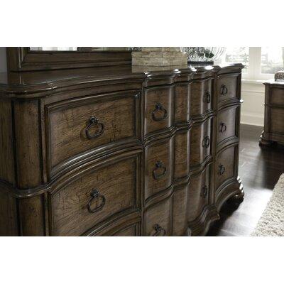 Quellenhof 9 Drawer Standard Dresser