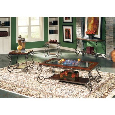 Carlton 4 Piece Coffee Table Set