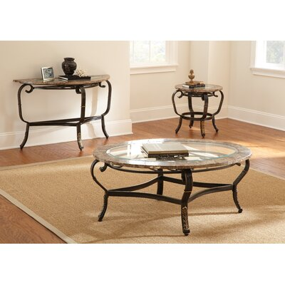 Dorado 3 Piece Coffee Table Set
