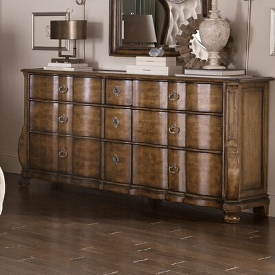 Sofitel 9 Drawer Standard Dresser