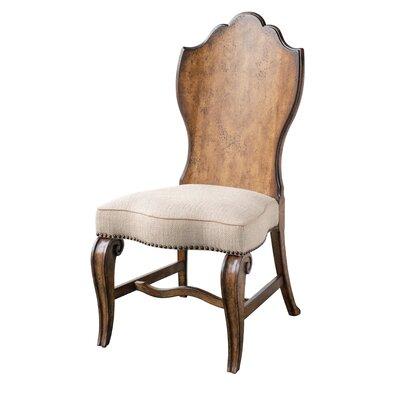 Sofitel Upholstered Dining Chair (Set of 2) Color: Nutmeg