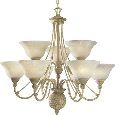 Bellevue 9 Light Mini Chandelier