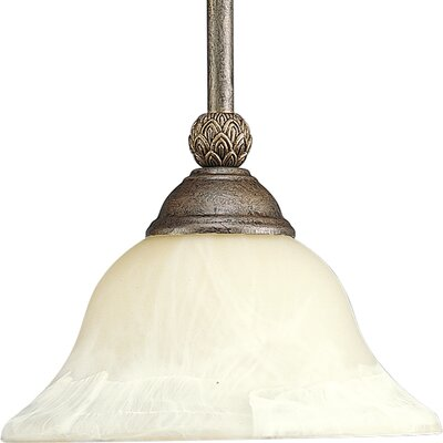 Offerman 1 Light Mini Pendant Finish: Burnished Chestnut