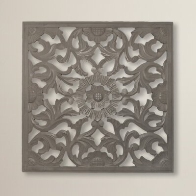 Astoria Grand Square Handcrafted Medallion Wall Dcor