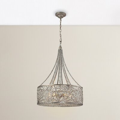 Schwerin 6-Light Drum Pendant