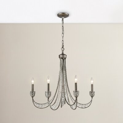 Jaidan 5-Light Candle-Style Chandelier