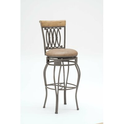 Copenhagen 33 Swivel Bar Stool with Cushion