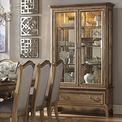 Bainbridge Lighted China Cabinet