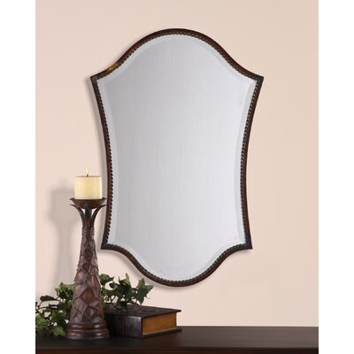 Astoria Grand Distressed Bronze Vanity Mirror