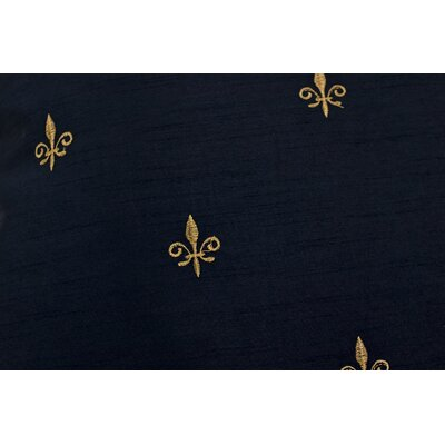 Chateau Filler 50 Curtain Valance Color: Black