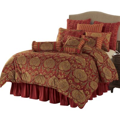 Newtownabbey 4 Piece Comforter Set Size: Super Queen