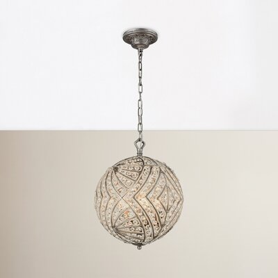 Jaidan 5-Light Globe Pendant Bulb Type: 60W Incandescent