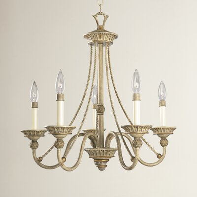 Bellevue 5 Light Candle-Style Chandelier