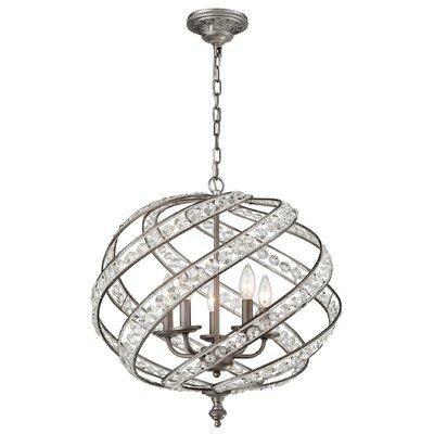 Jaidan Metal 5-Light Globe Pendant