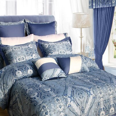 Carncastle 24 Piece Bed in a Bag Set Size: Queen