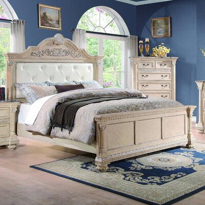 Clearwell Upholstered Panel Bed