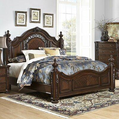 Clarens Panel Bed Size: Queen