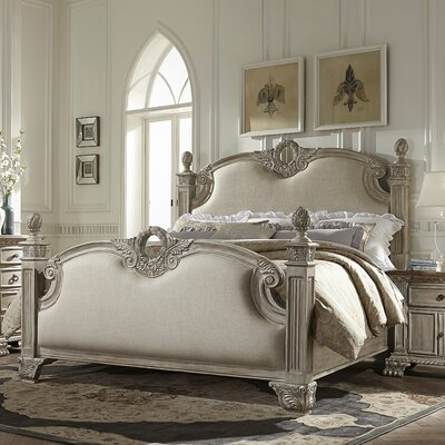 Chirk Upholstered Panel Bed Size: King