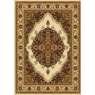 Caterina Ivory Area Rug Rug Size: 78 x 104