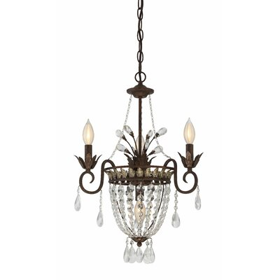 Embassy 3-Light Mini Chandelier