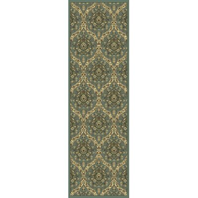 Newfoundland Blue/Green Area Rug Rug Size: Runner 22 x 611